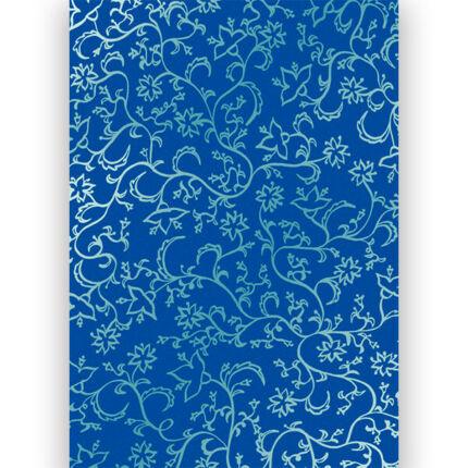 Transzparens papír, A4 - Millefiori kék