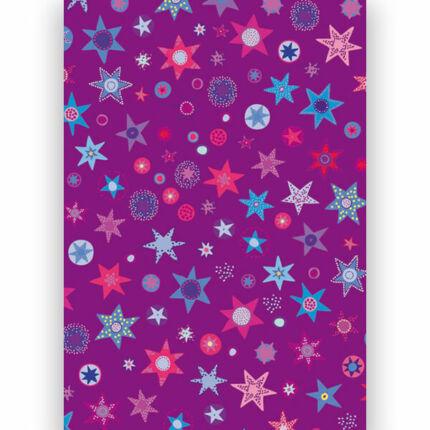 Transzparens papír, A4 - Csillagos II. szeder