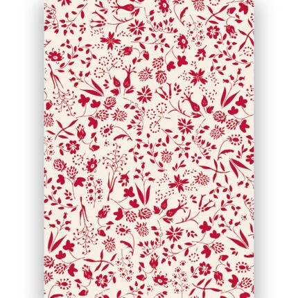 Transzparens papír, A4 - Folklór virágok