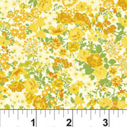 Patchwork anyag - In The Beginning - Garden Delights 1634GSF-2