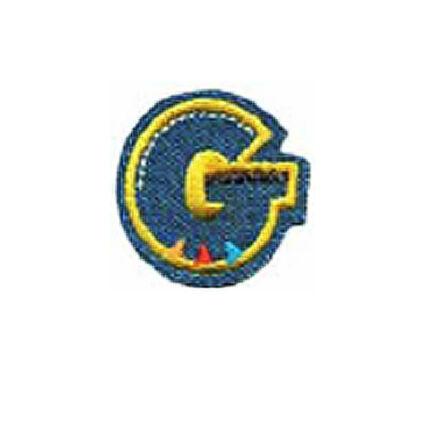 Textil betű, vasalható - G, farmer