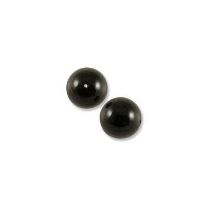 5810 Swarovski igazgyöngy utánzat, 3 mm - Mystic Black