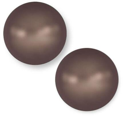 5810 Swarovski igazgyöngy utánzat, 6 mm - Velvet Brown