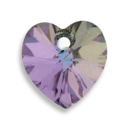 6228 Swarovski szív alakú függő, 14,4x14 mm - Crystal Vitrail Light