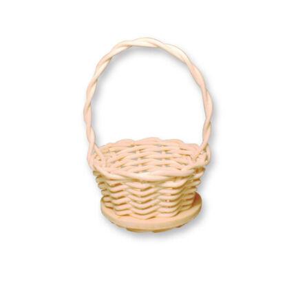 Kosárfonó kézműves csomag - mini füles kosár