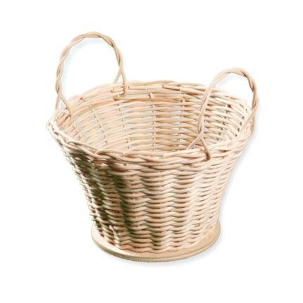 Kosárfonó kézműves csomag - kétfülű kosárka