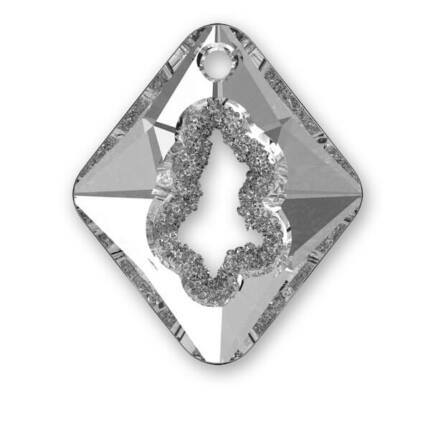6926 Swarovski Growing Rhombus függő, 36 mm - Crystal