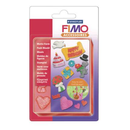 FIMO Nyomóforma szilikon - ünnepek