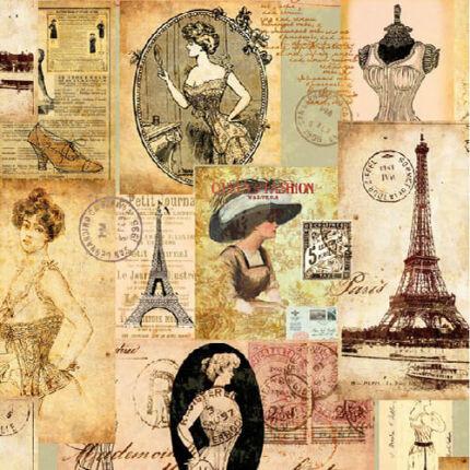 Szalvéta - Madam Paris (k)