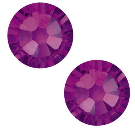 2058 Swarovski Xilion Rose Hotfix vasalható kristály, SS10 (2,8 mm) - Amethyst