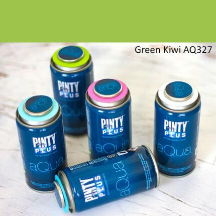 Pinty Plus Aqua, vízbázisú festékspray, 150 ml - 327 Green Kiwi