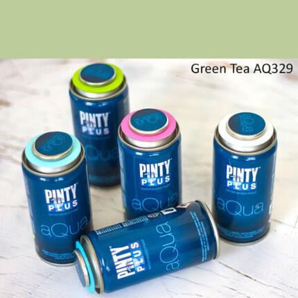 Pinty Plus Aqua, vízbázisú festékspray, 150 ml - 329 Green Tea