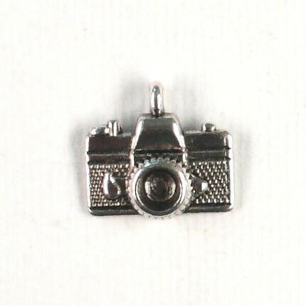 Charm, fémdísz - fényképezőgép