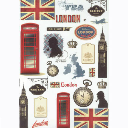 Rizspapír - London