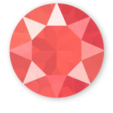 1088 Swarovski Xirius Chaton kristály, SS39 (8 mm) - Crystal Light Coral