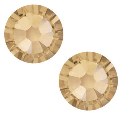 2058 Swarovski Xilion Rose Hotfix vasalható kristály, SS10 (2,8 mm) - Crystal Golden Shadow