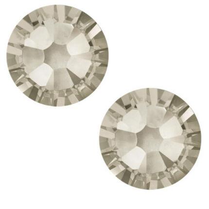 2038 Swarovski Xilion Rose Hotfix vasalható kristály, SS10 (2,8 mm) - Crystal Silver Shade