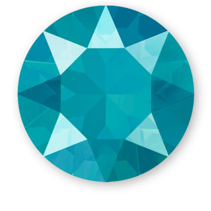 1088 Swarovski Xirius Chaton kristály, SS39 (8 mm) - Crystal Azure Blue