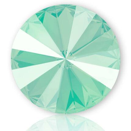 1088 Swarovski Xirius Chaton kristály, SS39 (8 mm) - Crystal Mint Green