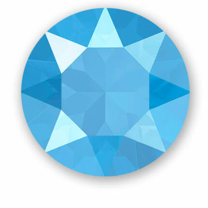 1088 Swarovski Xirius Chaton kristály, SS39 (8 mm) - Crystal Summer Blue
