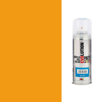 Akrilfesték spray, EVOLUTION fényes, 200 ml - 1007 nárciszsárga