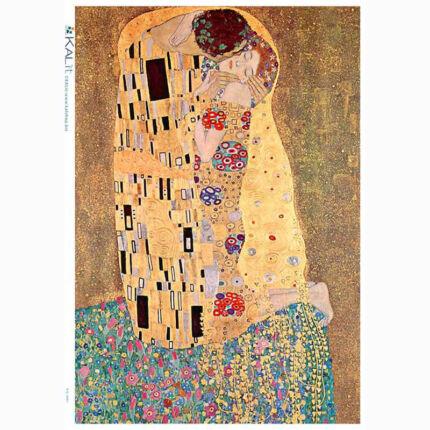 Rizspapír - Klimt - Csók