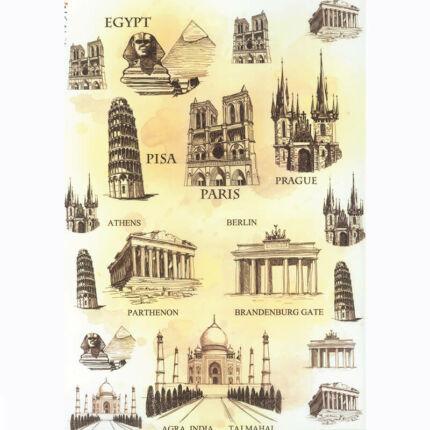 Rizspapír - híres építmények