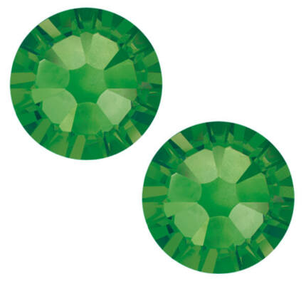 2058 Swarovski Xilion Rose Hotfix vasalható kristály, SS10 (2,8 mm) - Fern Green