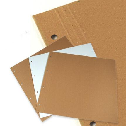 Scrapbook albumlap - natúr, 30x32 cm, 1 db
