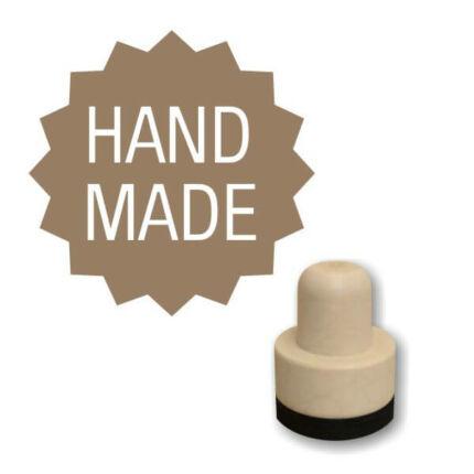 Pecsételő, kerek, 3 cm - Foam bélyegző - Handmade