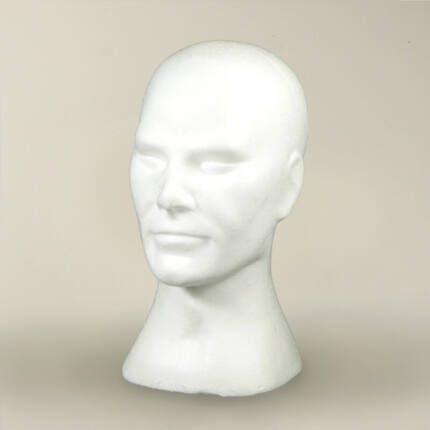 Hungarocell (styropor) fej - férfi
