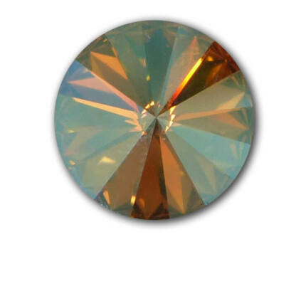 1122 Swarovski Rivoli SS50 (12 mm) - Light Colorado Topaz Shimmer