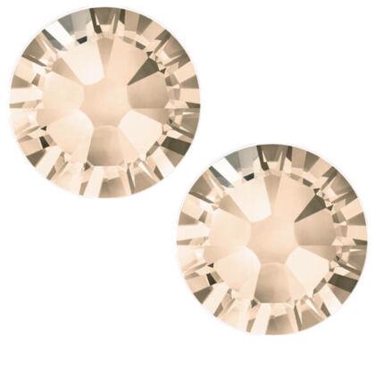 2058 Swarovski Xilion Rose Hotfix vasalható kristály, SS10 (2,8 mm) - Light Peach