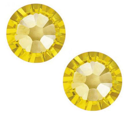 2058 Swarovski Xilion Rose ragasztható kristály, SS20 (4,7 mm) - Light Topaz