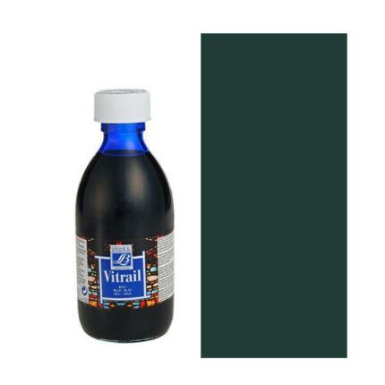 Vitrail gyantaalapú üvegfesték, 250 ml - fedő fekete