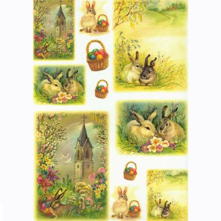 Rizspapír - húsvéti harangjáték