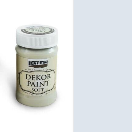 Pentart Dekor Paint Soft, 100 ml - törtfehér