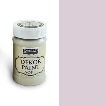 Pentart Dekor Paint Soft, 100 ml - Viktoriánus rózsaszín