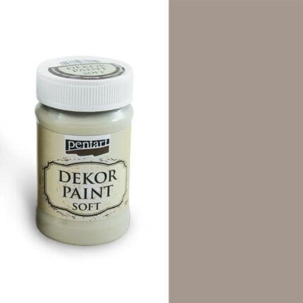 Pentart Dekor Paint Soft, 100 ml - mandula
