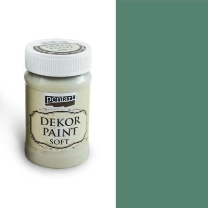 Pentart Dekor Paint Soft, 100 ml - türkizzöld