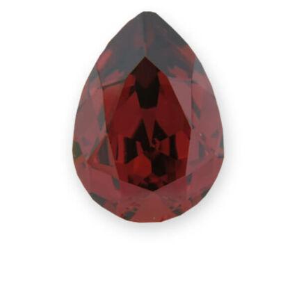 4320 Swarovski csepp alakú befoglalható kristály, 14x10 mm - Padparadscha Satin