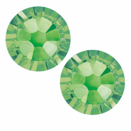 2058 Swarovski Xilion Rose Hotfix vasalható kristály, SS10 (2,8 mm) - Peridot