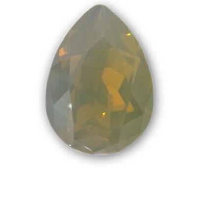 4320 Swarovski csepp alakú befoglalható kristály, 18x13 mm - Sand Opal