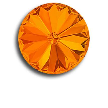 1122 Swarovski Rivoli SS39 (8 mm) - Tangerine