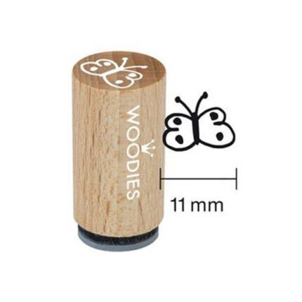 Pecsételő, Woodies, 1,3 cm - Pillangó