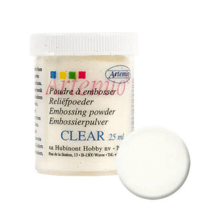 Embossing por - clear