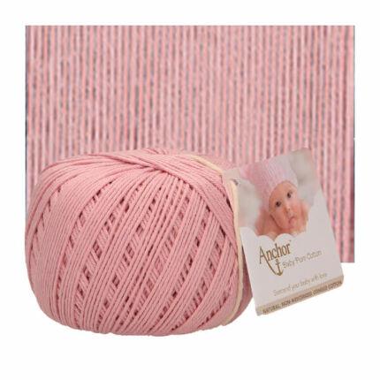 Horgolófonal, Baby Pure Cotton, 50 g, 00423 vintage rózsaszín