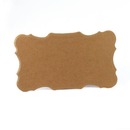Natúr MDF lap, rusztikus, 20x34x0,6 cm