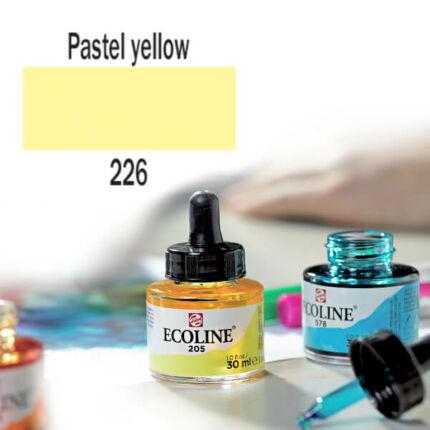 Ecoline akvarellfesték koncentrátum, 30 ml - 226, pastel yellow