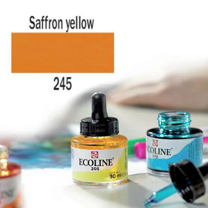 Ecoline akvarellfesték koncentrátum, 30 ml - 245, saffron yellow